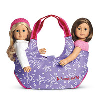 American Girl® Accessories: Two-Doll Tote for Girls