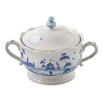 Country Estate Delft Blue Sugar Bowl - Juliska