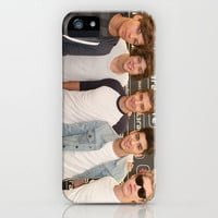 One Direction Backstage at Party In The Park 2012 Leeds iPhone Case by Karl Wilson Photography