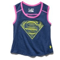 Under Armour Girls' Under Armour Alter Ego Supergirl Muscle Tank