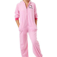 Pink Polar Fleece Hello Kitty