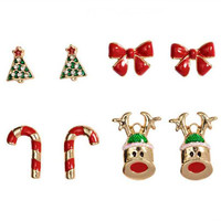 Christmas Theme Earring Sets