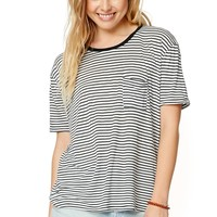 Volcom Lived In Striped Top - Womens Tee