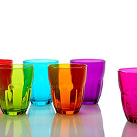 One Kings Lane - Brighten Your Table - S/6 Assorted Ercole Glasses