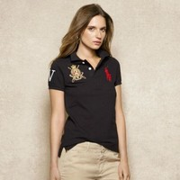 ONETOW NEW POLO RALPH LAUREN SHIRT WOMEN SHORT SLEEVE T-SHIRT