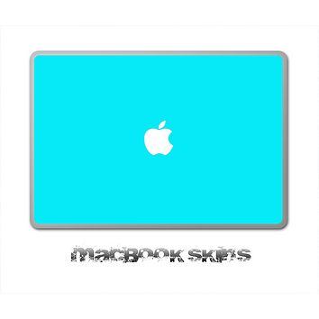Aqua Blue Skin for the 11, 13 or 15 inch MacBook