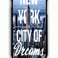 iPhone 6 Plus Case - Hard (PC) Cover with City Of Dreams New York Plastic Case Design