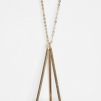 Urban Outfitters - UO Geometric Pendant Necklace