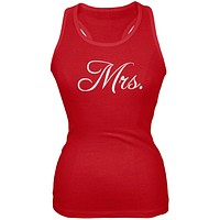Fancy Mrs. Red Juniors Soft Tank Top