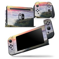 Foggy Mountainside - Skin Wrap Decal for Nintendo Switch Lite Console & Dock - 3DS XL - 2DS - Pro - DSi - Wii - Joy-Con Gaming Controller