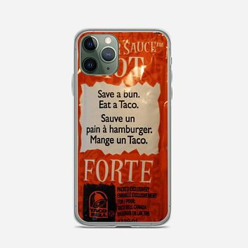 Taco Bell Packets iPhone 11 Pro Max Case