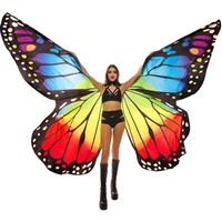 Rainbow Monarch Butterfly Wings