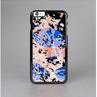 The Abstract White and Blue Fish Fossil Skin-Sert Case for the Apple iPhone 6 Plus