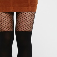 Free People It's You Fishnet Tights