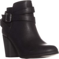 MG35 Lexia Ankle Boots, Black, 10.5 US