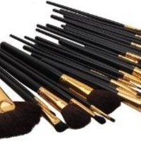 Generic 32 Pcs Professional Beauty Cosmetic Makeup Brush Set Kit With Case