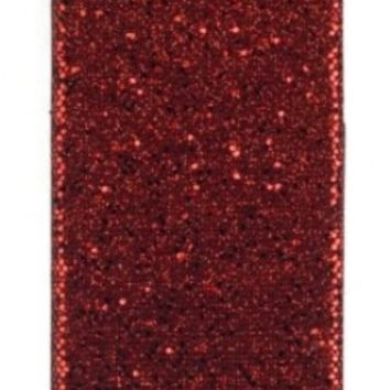 Red Sparkles Case for Apple iPhone 4, 4S (AT&T, Verizon, Sprint)