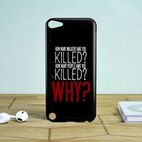 The Walking Dead Question TWD Quotes iPod Touch 5 Case  Sintawaty.com