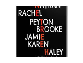 One Tree Hill (Names) - Iphone case