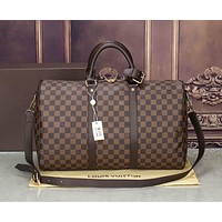 Louis Vuitton New classic large-capacity travel bag Fashion handbag can be one-shoulder messenger