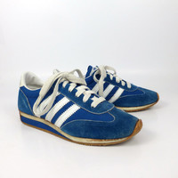 Running Shoes Sneakers Vintage 1980s Sears Winners Circle  women's size 6 1/2