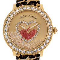 Betsey Johnson Loose Crystal Dial Watch | Nordstrom