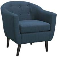 Wit Armchair in Azure