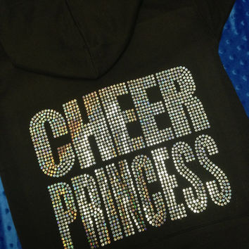 Cheer Princess Sweatshirt (7 colors to choose from)