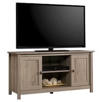 County Line Panel 2 Door TV Stand - Salt Oak - Sauder