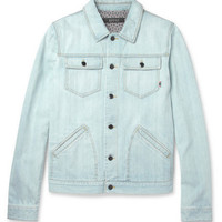 Gucci Washed-Denim Jacket | MR PORTER