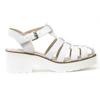 WINDSOR SMITH Lily White Leather