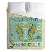 Anderson Design Group Seahorse Saloon Duvet Cover