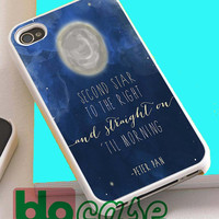 Disney Peter Pan Quotes For Iphone 4/4s, iPhone 5/5s, iPhone 5C, iphone 6, and iPhone 6 Plus Case