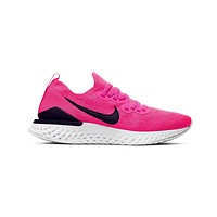 Nike Women's Epic React Flyknit 2 Raspberry Red