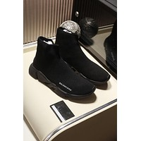 Balenciaga 2020 Popular TREDING Men black Casual Breathable Socks Shoes Sneakers Running Shoe Balenciaga high top boot