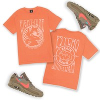 Cid Cat T Shirt Orange