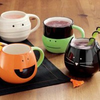Halloween Monster Bash Mugs- Assorted Set of 4 by tag