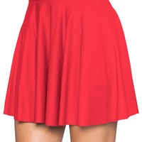 AWESOME RED SKATER SKIRT - LIMITED