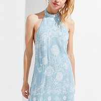 UO Catalina Printed Halter Dress | Urban Outfitters