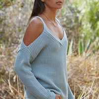 LA Hearts Chunky Cold Shoulder Pullover Sweater at PacSun.com