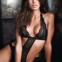 Cut-out Halter Teddy - Very Sexy - Victoria's Secret