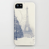 De La Tour Eiffel iPhone Case by Irène Sneddon | Society6