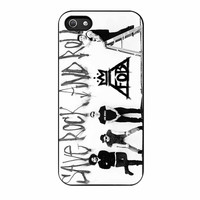 Fall Out Boy Band Save Rock And Roll iPhone 5s Case