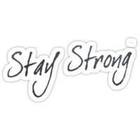 "T-Shirt ""Stay Strong"""