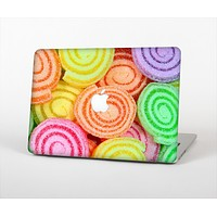 """The Colorful Candy Swirls Skin Set for the Apple MacBook Air 11"""""""