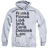 SHAMELESS/FAMILY-ADULT PULL-OVER HOODIE-ATHLETIC HEATHER-LG