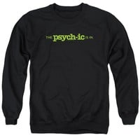 Psych - The Psychic Is In Adult Crewneck Sweatshirt Officially Licensed Apparel