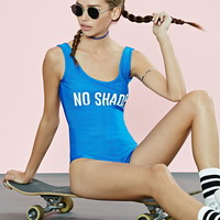 No Shade Graphic Bodysuit