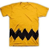 Authentic Youth Kids Peanuts Charlie Brown Costume T-Shirt Tee