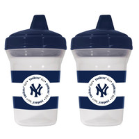 New York Yankees Sippy Cup 2 Pack